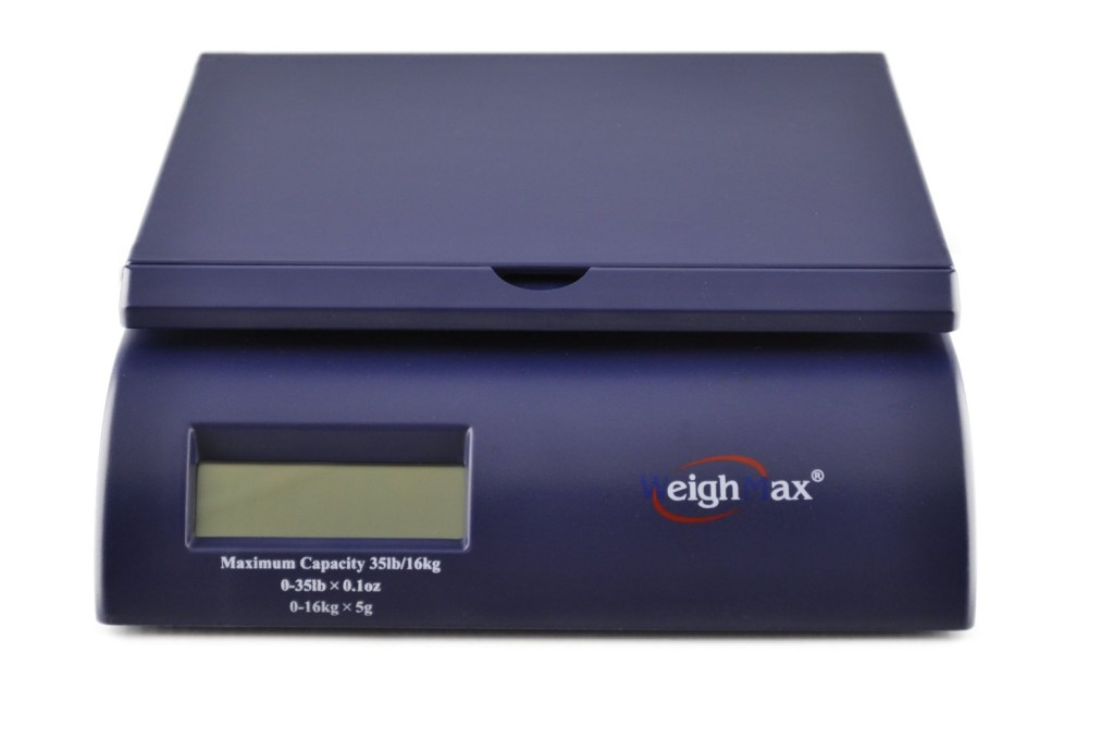 Weighmax 2822-35 lbs Capacity, Blue, Postal Shipping Scale Review