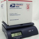 Weighmax 2822-35 lbs Capacity, Blue, Postal Shipping Scale