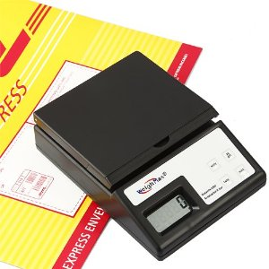 Weighmax USPS Style 25 Lb x 0.1 OZ Digital Shipping Mailing Postal Scale with Batteries