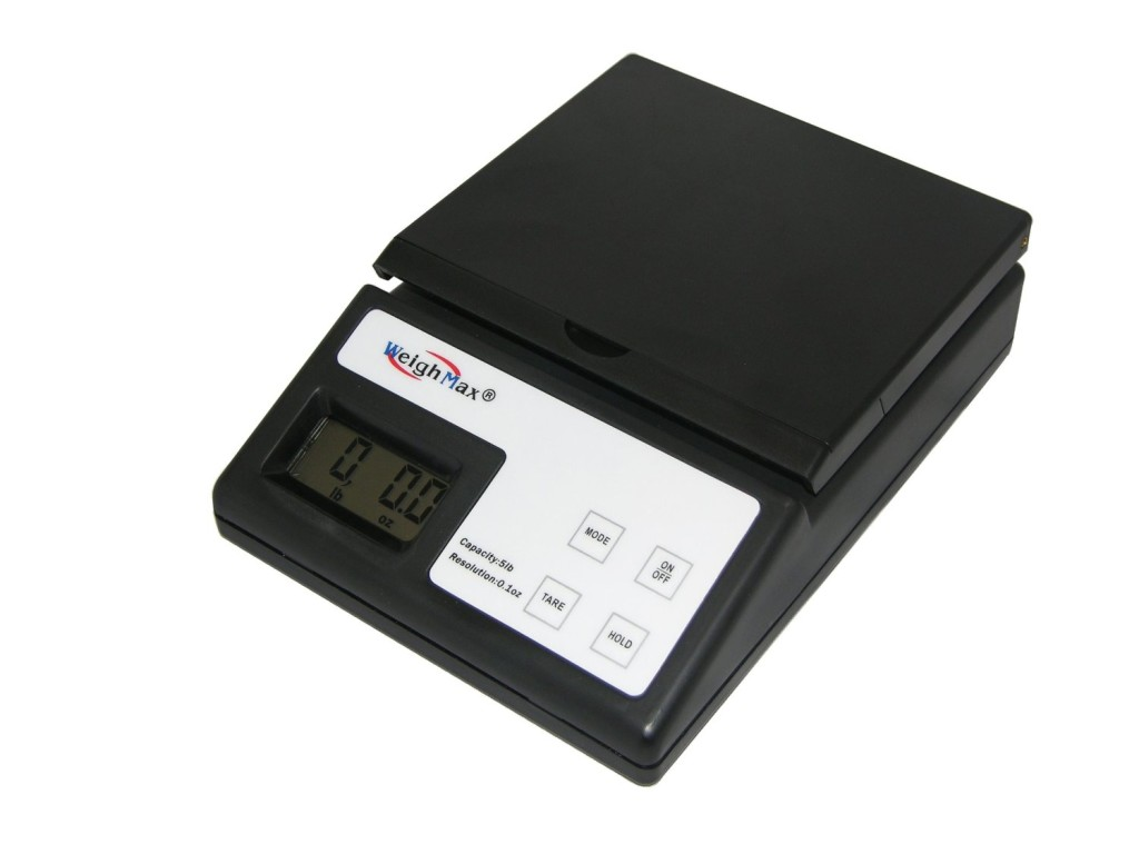 Weighmax USPS Style W-2812 5Lb Postal Mailing Scale