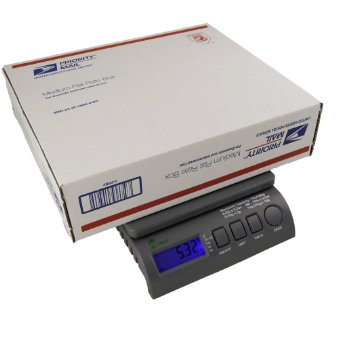 LW Measurements Digital Postal Shipping Postage Bench Scales 35