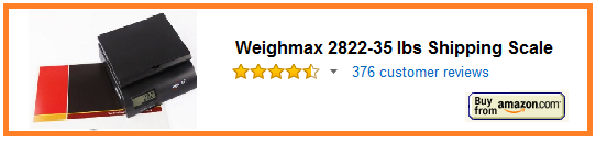 Weighmax 2822-35 lbs Shipping Scale