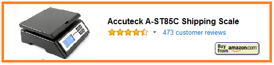 Accuteck A-ST85C Shipping Scale